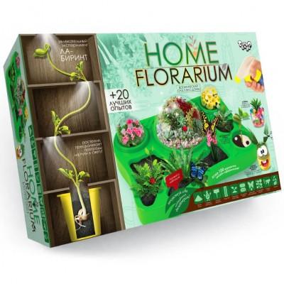 """Набор д/тв. """"HOME FLORARIUM"""" вирощ.рослин Данко  HFL-01-01U"""