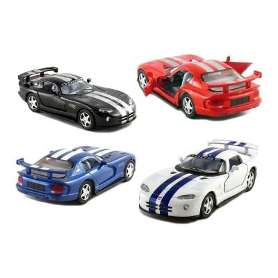 """Машина мет.""""Kinsmart"""" Dodge Viper GT в кор.16*8*7см KT5039WF"""