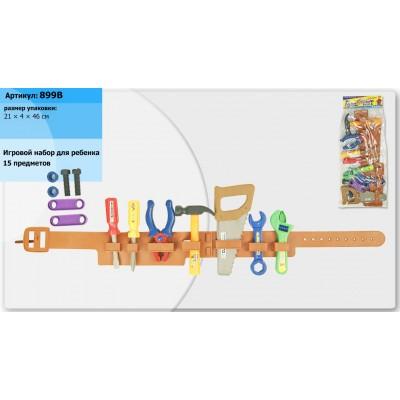 Инструменты(молоток,ключи,пояс) в пакете 21*4*46см 899В