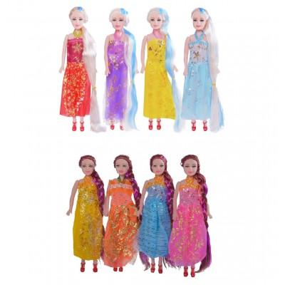 Кукла 2шт. мальч+девочка, в пакете 16см 6066-5428