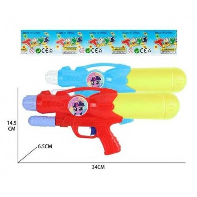 Водяной пистолет с насосом, в пакете  М 808 Q