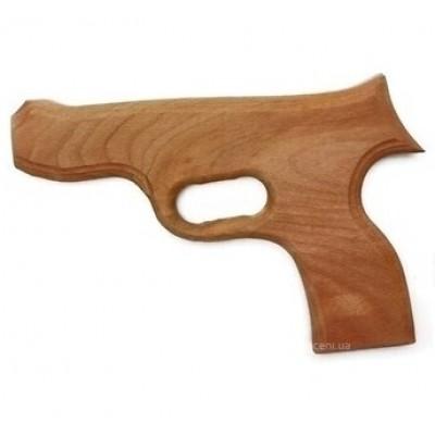 Пистолет+шарики пинг-понг в пакете 53см 1056