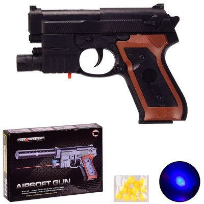 Пистолет с пульк.  в пакете 21*14см  301