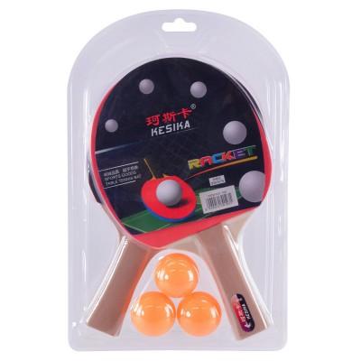 Теннис наст.(2ракет,3мяч)  в слюде  РР0103