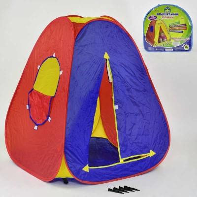"Палатка ""Домик""Play Smart  в сумке, 105*92см  5032"