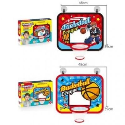 Мяч баскетбол. мини + корзина в слюде 34*8*34см YD3688Z-5