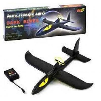 Запускалка-планер Самолет +USB заряд, 28*29см ВР19919