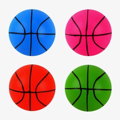 Мяч резин. ассорти англ.буквы 22,5см 60гр YW181601