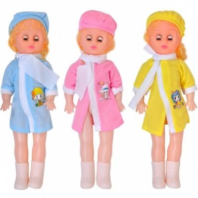 Кукла муз, поет, свет. сережки, 50см, пакет 60*22см 9113-1