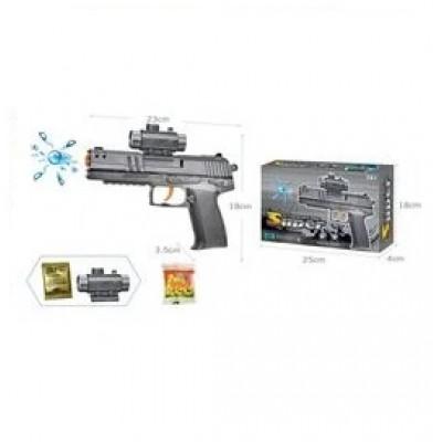 Пистолет свет,звук MineCraft в пакете 21*13см, MW2221