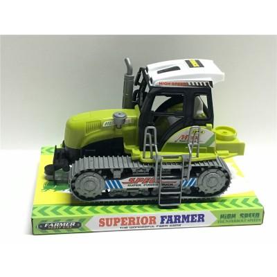 Трактор инерц. гусеничный, в слюде 22*14*15см  668