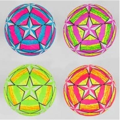 Мяч резин. ассорти матовый дым 22,5см 70гр YW 0310
